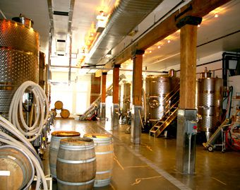 Good Cheer: The City Winery, which is also a music venue, is Manhattan?s only kosher wine-making facility.