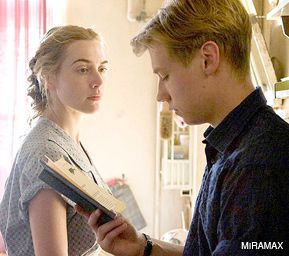 A NEW READ ON HISTORY: Kate Winslet and David Kross star in the Oscar-nominated ?The Reader,? one of five Holocaust-related films now in theaters.