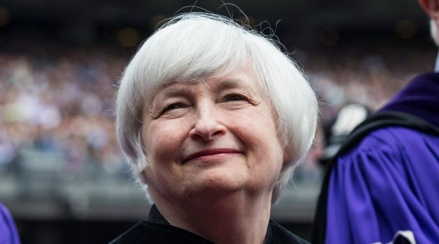 No Drama for Janet: Janet Yellen spoke without controversy at New York University's commencement. Others weren't so fortunate this season.