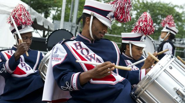 50 Years: The Howard University marching band prepares for the 50th anniversary of the March on Washington.