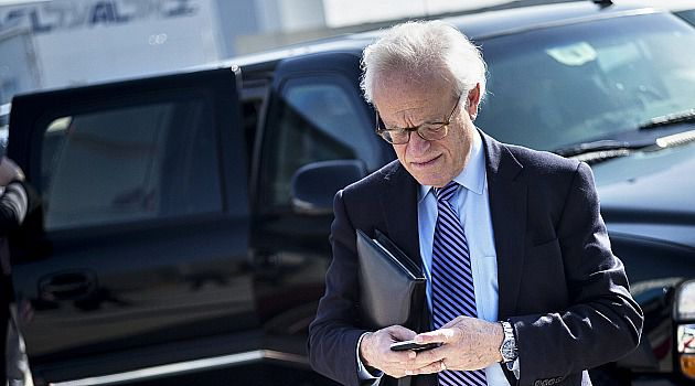 I'm Gone: Mideast envoy Martin Indyk is reportedly stepping down following the collapse of peace talks.