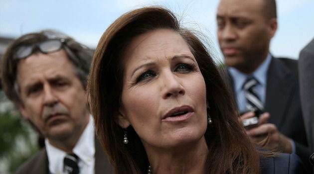 Parting Shot: Conservative Michele Bachmann blasted President Obama?s policies on Israel in a video announcing she would not seek reelection to Congress.