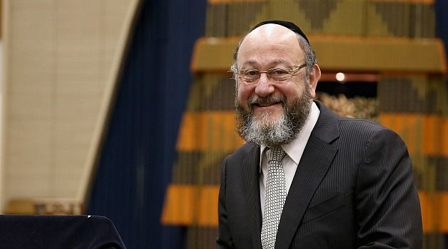 New Man: Rabbi Ephraim Mirvis is officially taking over as Britain?s chief rabbi.