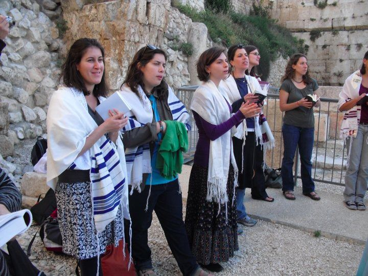 Women of the Wall Standing at Prayer