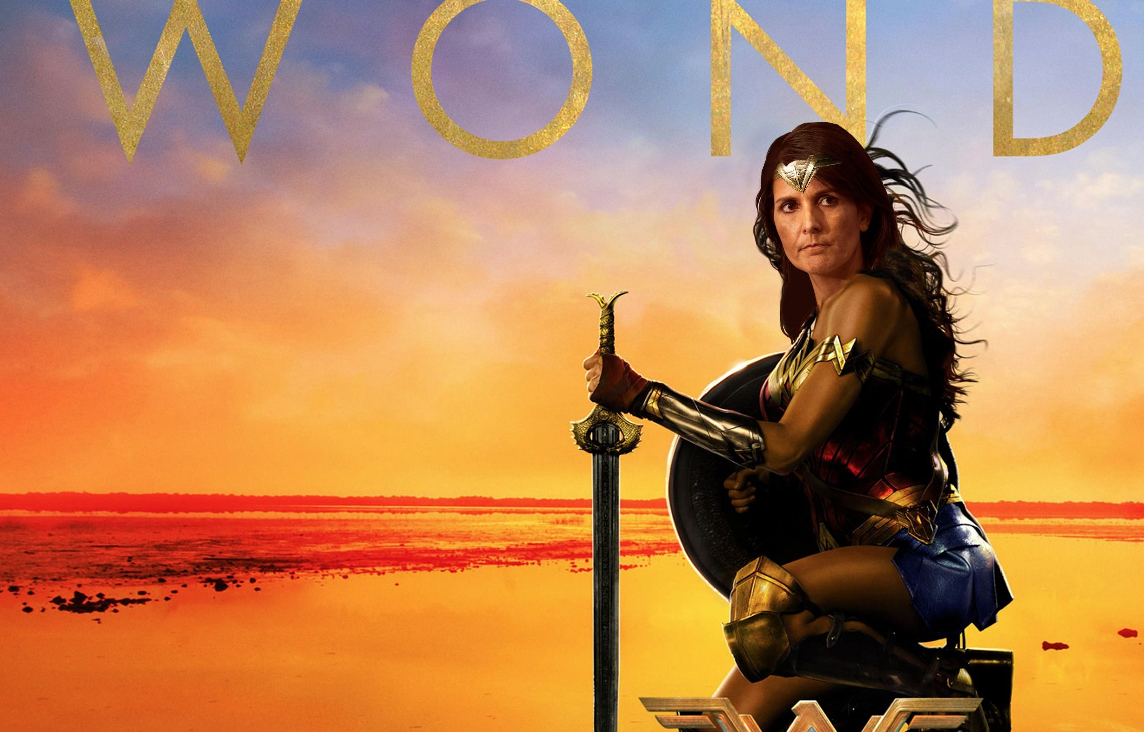 Israelis see U.N. Ambassador Nikki Haley as their defender, a kind of political Wonder Woman.
