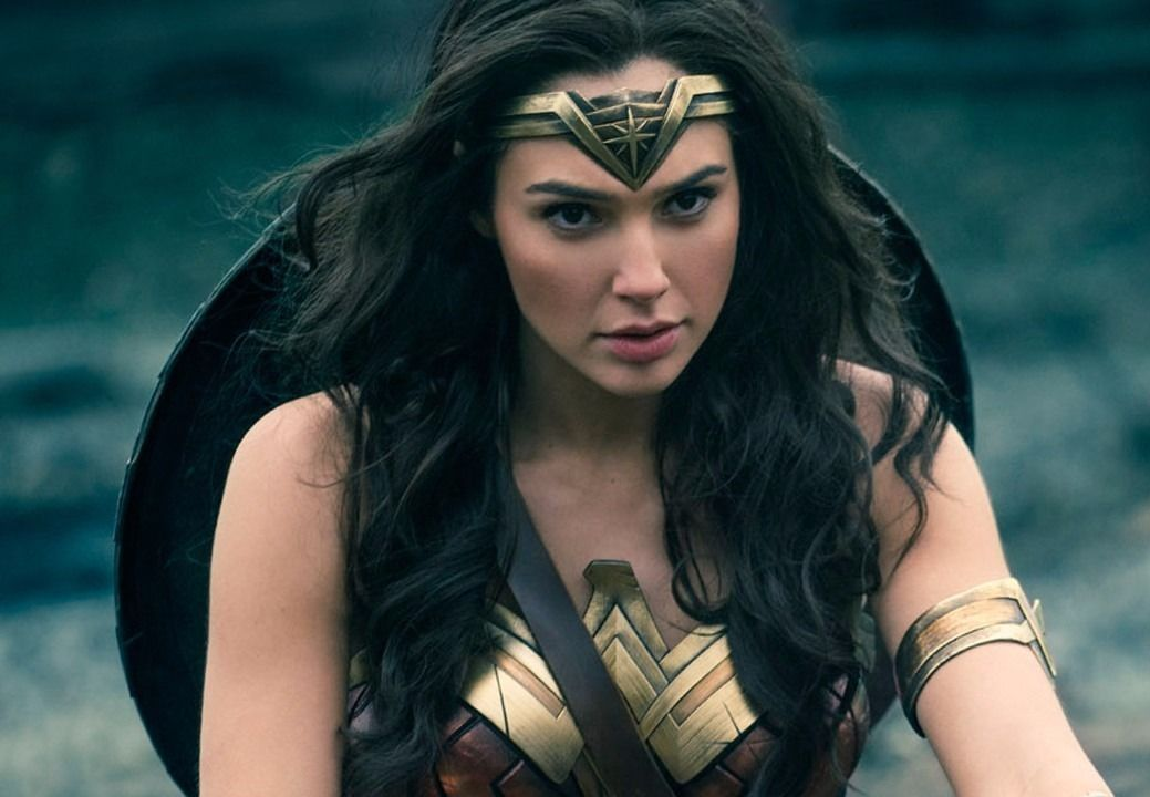 "Gal Gadot in ""Wonder Woman"""