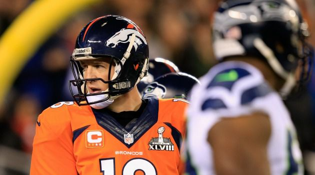 Safety Score: A screw-up by Denver Broncos quarterback Peyton Manning on the first play of the Super Bowl led to a big pay day for one bettor.