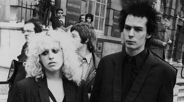 Punk rock icon Sid Vicious and his girlfriend, Nancy Spungeon.