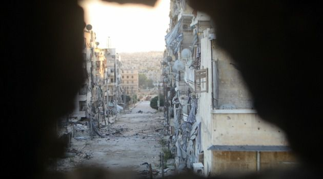 Peek of Destruction: The Syrian city of Alleppo is all but ruined amid the brutal civil war. A ranking Democrat is calling for U.S. air strikes to stop Bashar al-Assad?s attacks.