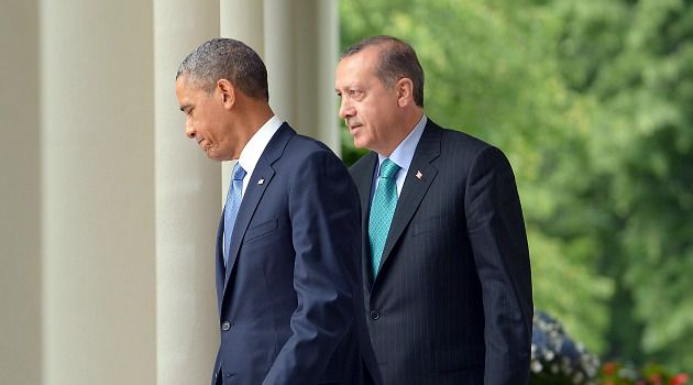 Strong Allies: Turkish Premier Recip Tayyip Erdogan meets President Obama at the White House.