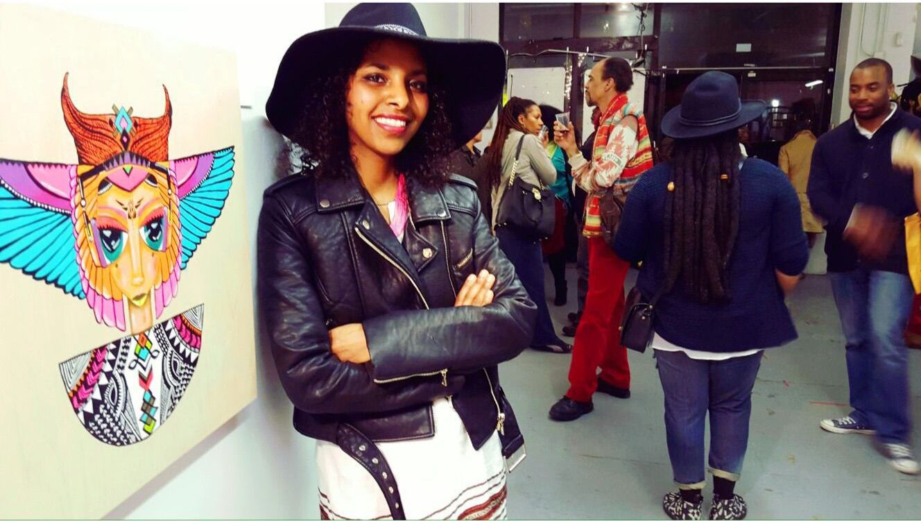 Ethiopian-Israeli artist Hirut Yosef