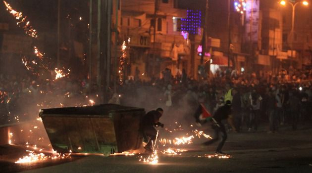 Intifada on Way? More than 10,000 Palestinians clashed with Israeli troops in the occupied West Bank — raising the spectre of a spreading uprising across the Palestinian territories.