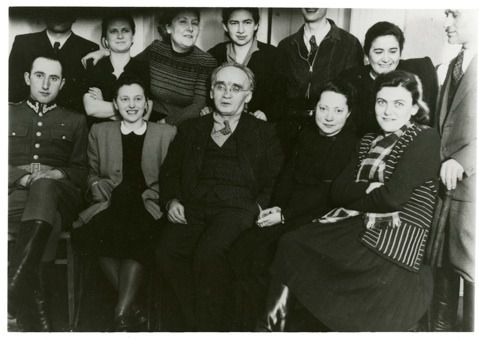 Archival Photo: Rose Klepfisz (bottom row, second from right)