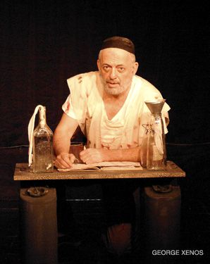 Thespian: David Mandelbaum played Yosl in the one-man show ?Yosl Rakover Talks to God.?