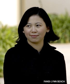 A BABEL FAN: Prize-winning author Yiyun Li notes the sharp humor of Isaac Babel even in his darkest stories.