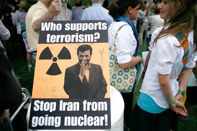 Speaking Out: Demonstrators participated in a Washington rally against Iran?s nuclear program in September 2009.