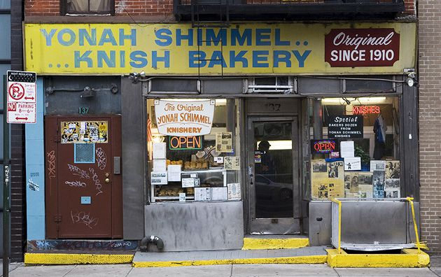 Doughy: Yonah Schimmel?s knishes have caught the attention of stars like Barbra Streisand.