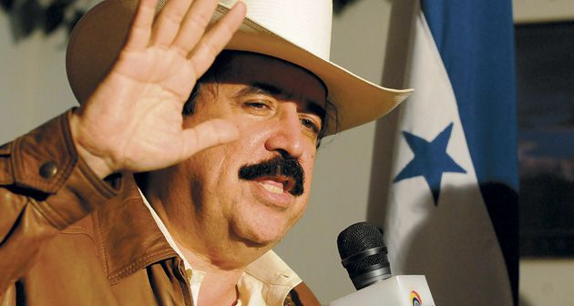 President? Ousted and exiled President Manuel Zelaya recently snuck back into Honduras in a bid to regain his office. The Jewish Institute for National Security Affairs sides with his successor.