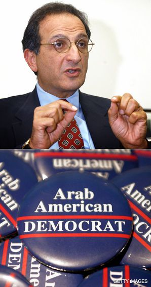 HOT BUTTON: James Zogby, top, said, ?The squeaky wheel gets the grease? when it comes to outreach efforts.
