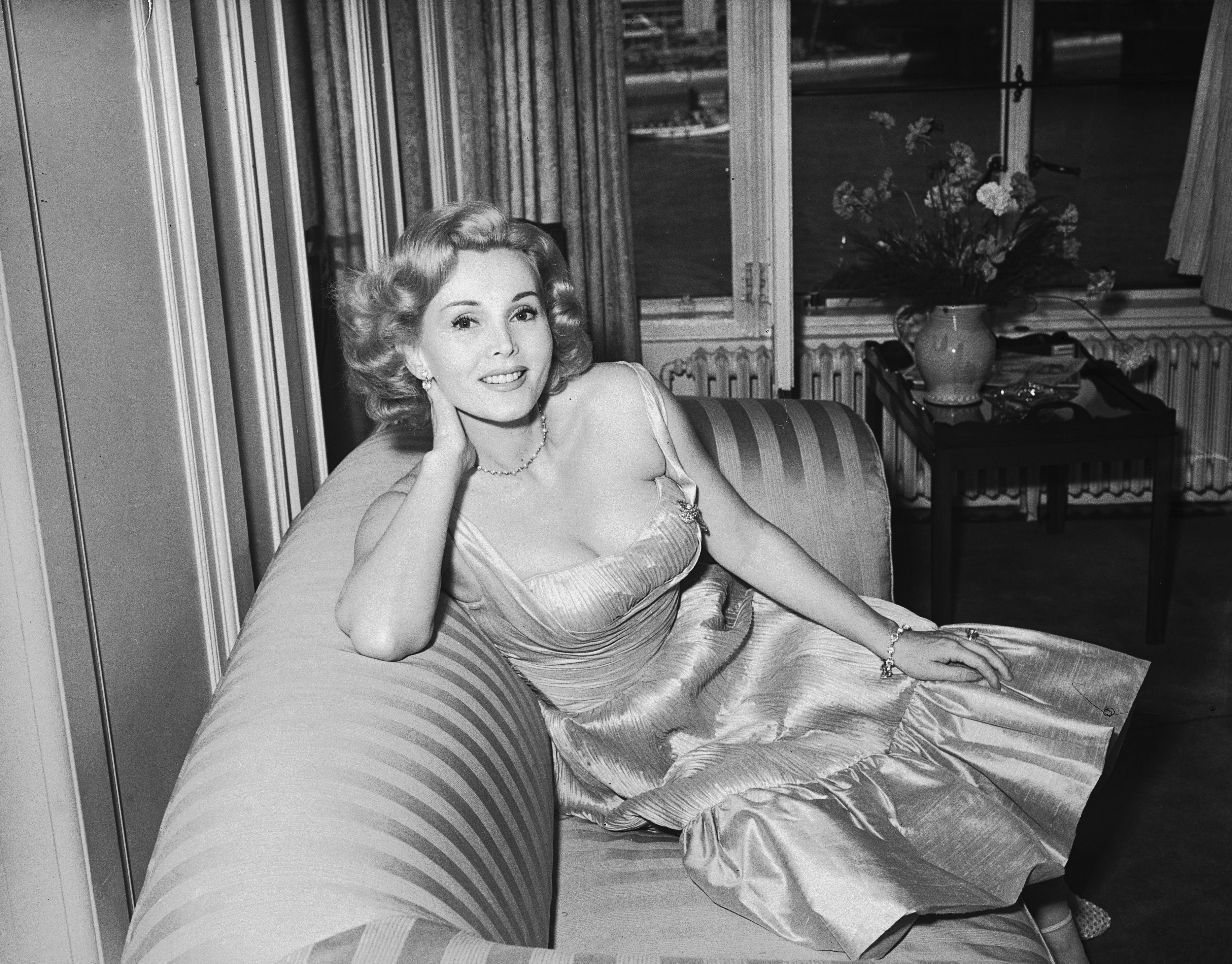 Zsa Zsa Gabor, self-made woman.