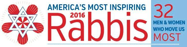 America's Most Inspiring Inspiring Rabbis 2016