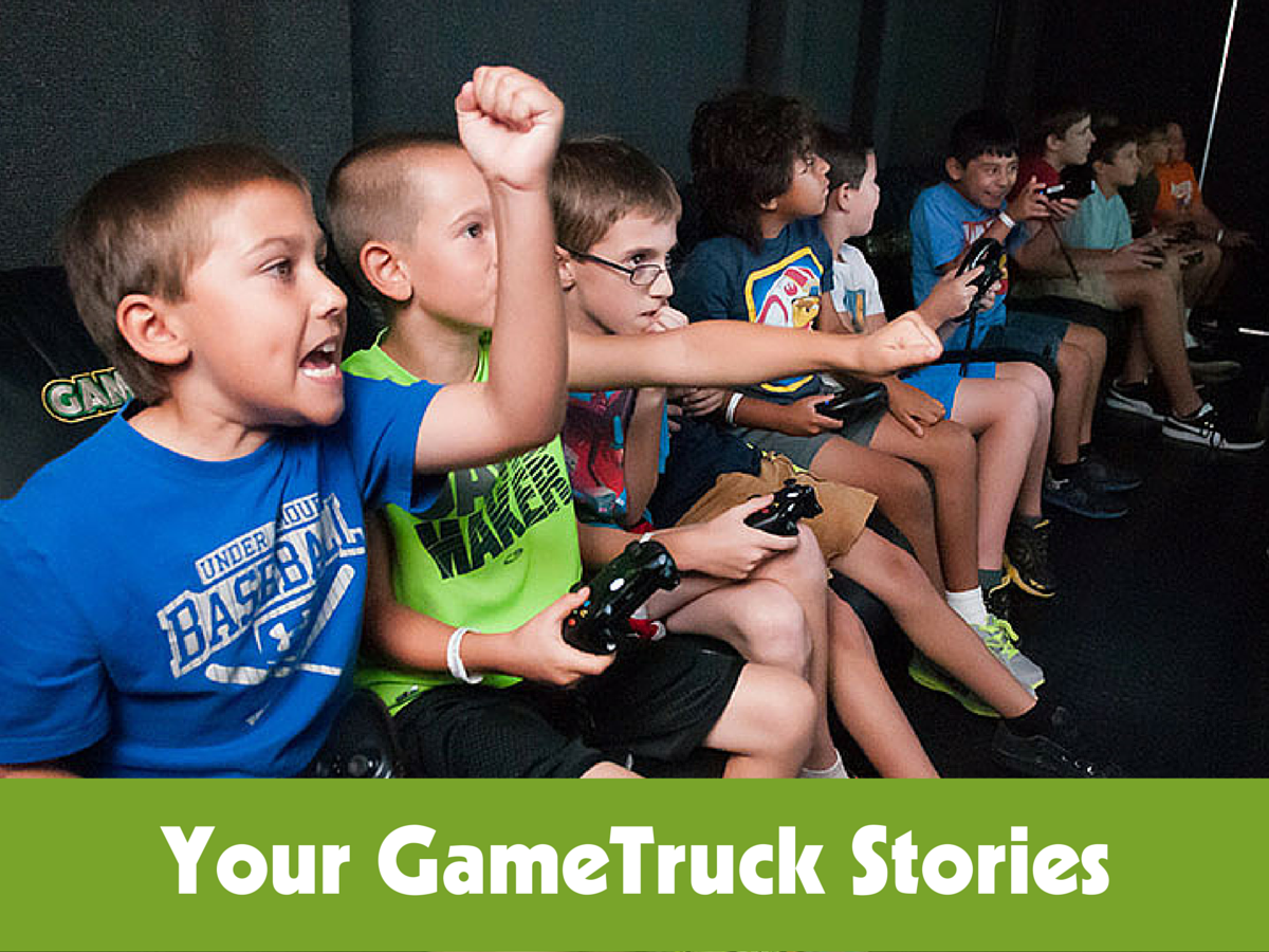 GIVEAWAY: GameTruck Party (our family LOVED it!)