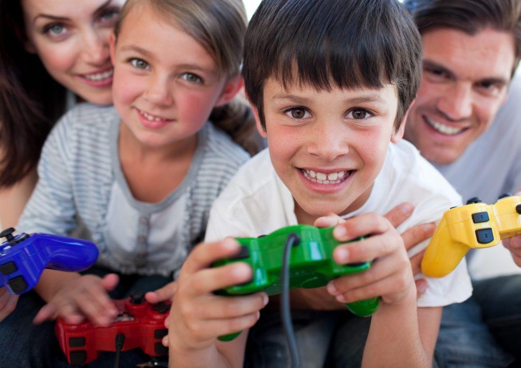 Video Games Kids Parents