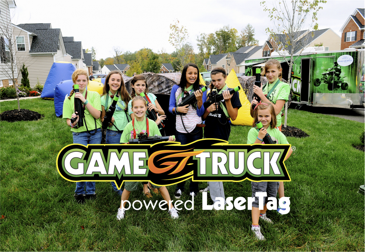 GameTruck powered LaserTag