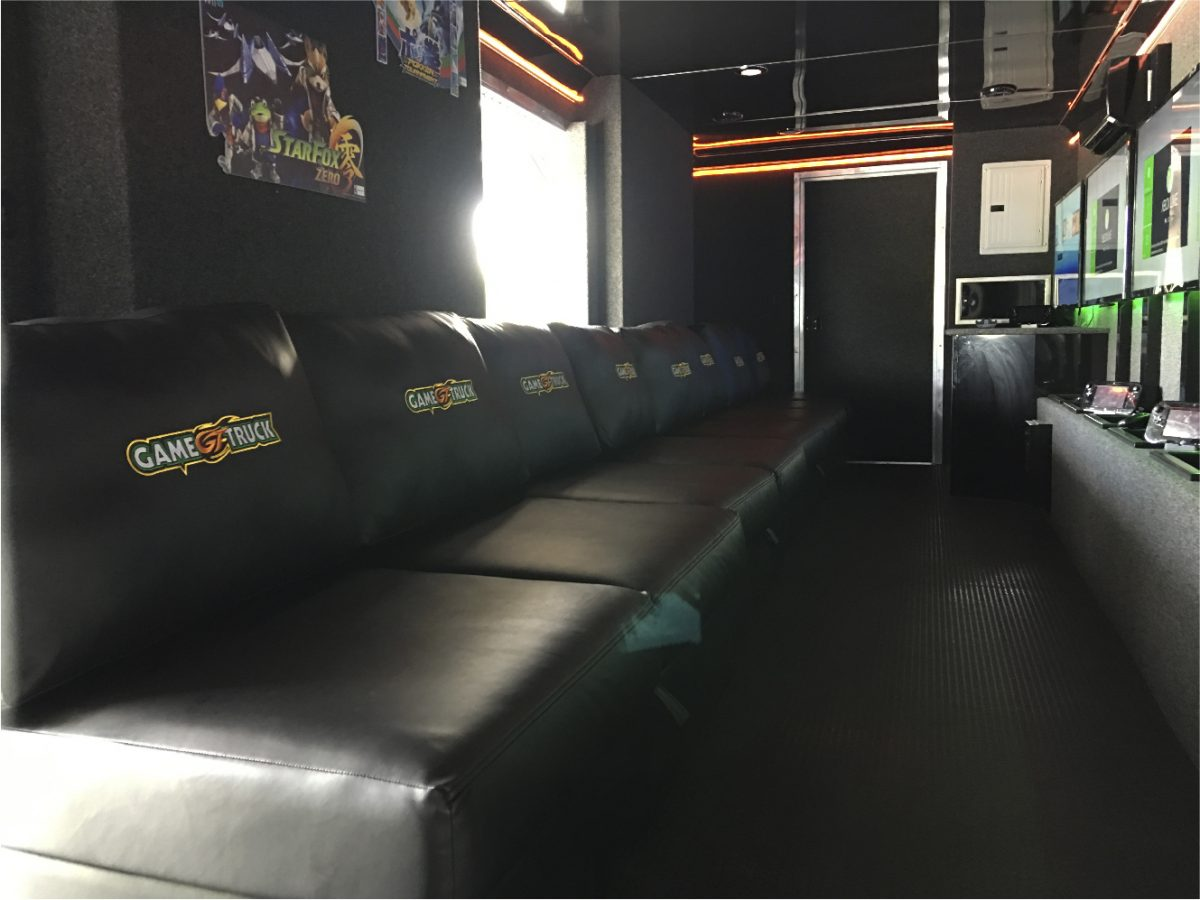 GameTruck theater interior