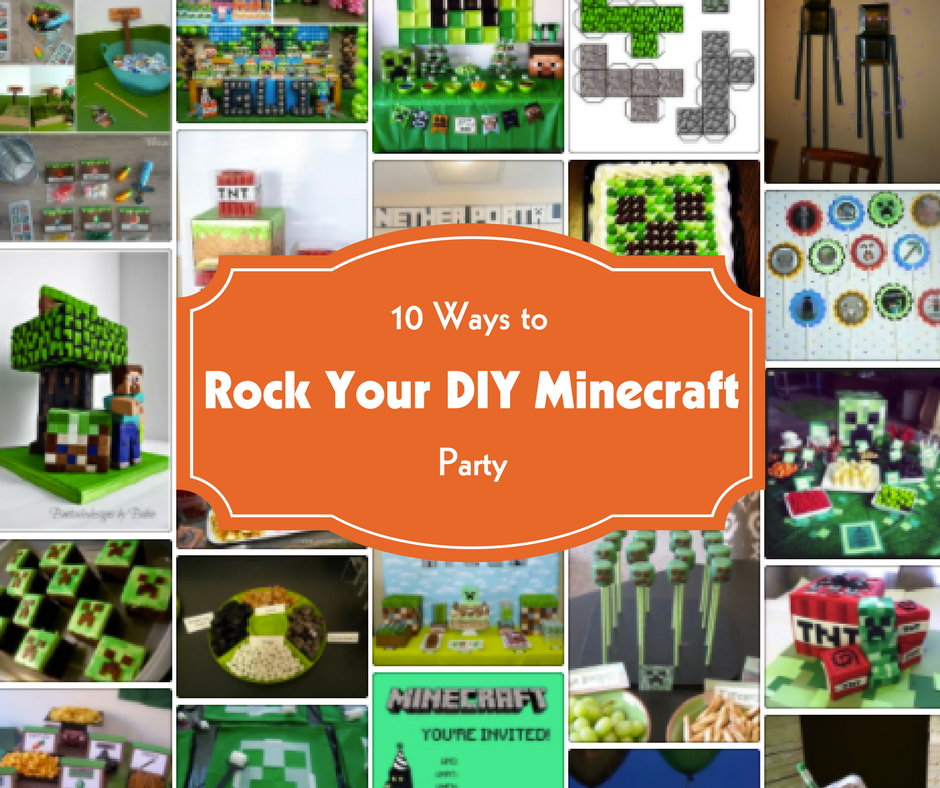 10 Ways to Rock Your DIY Minecraft Party