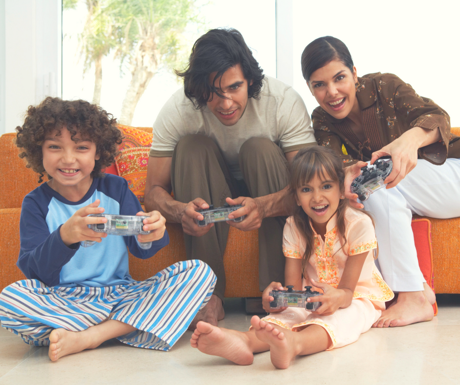 Which game console is best for families?