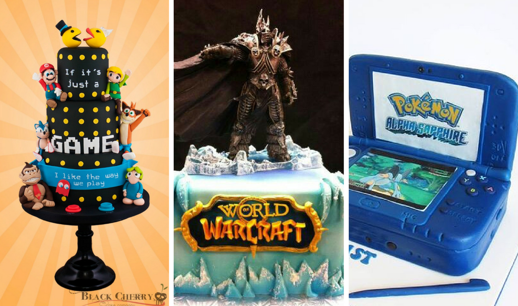10 Amazing Video Game Cakes  found on Instagram
