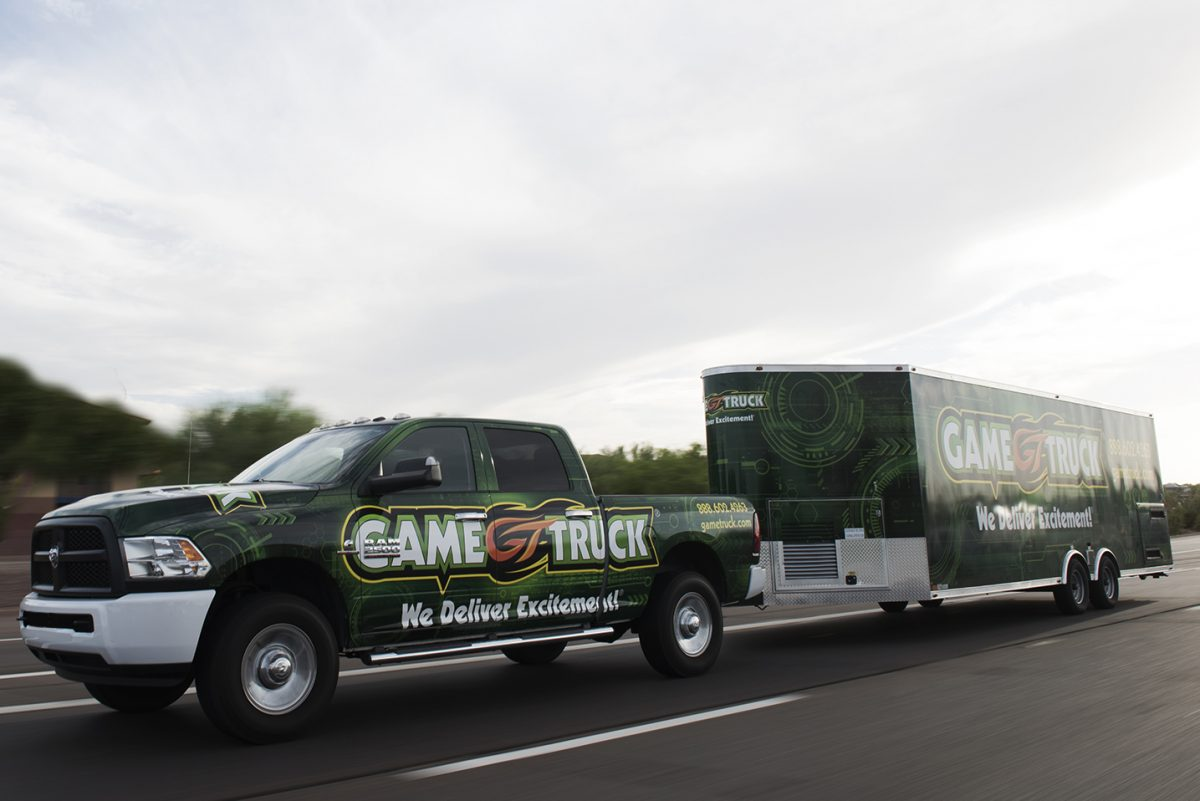 GameTruck Colorado Springs for School Events