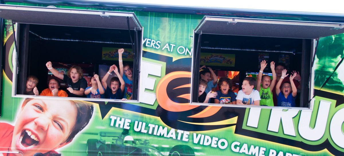 GameTruck back-to-school party
