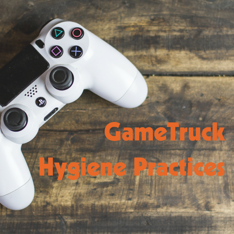 Keep It Clean – GameTruck Hygiene Practices