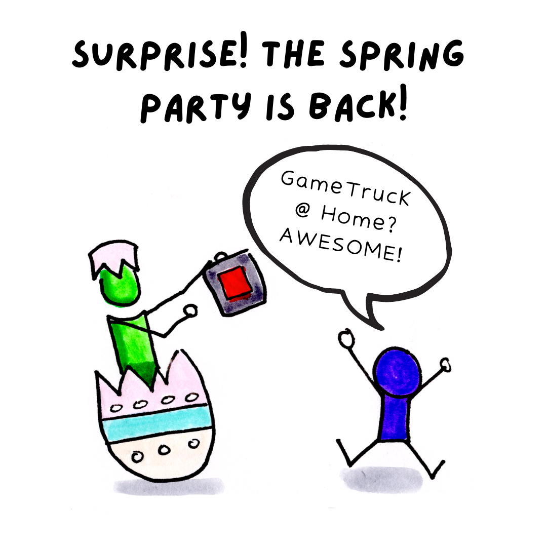 Spring Is An Awesome Time For A GameTruck Party