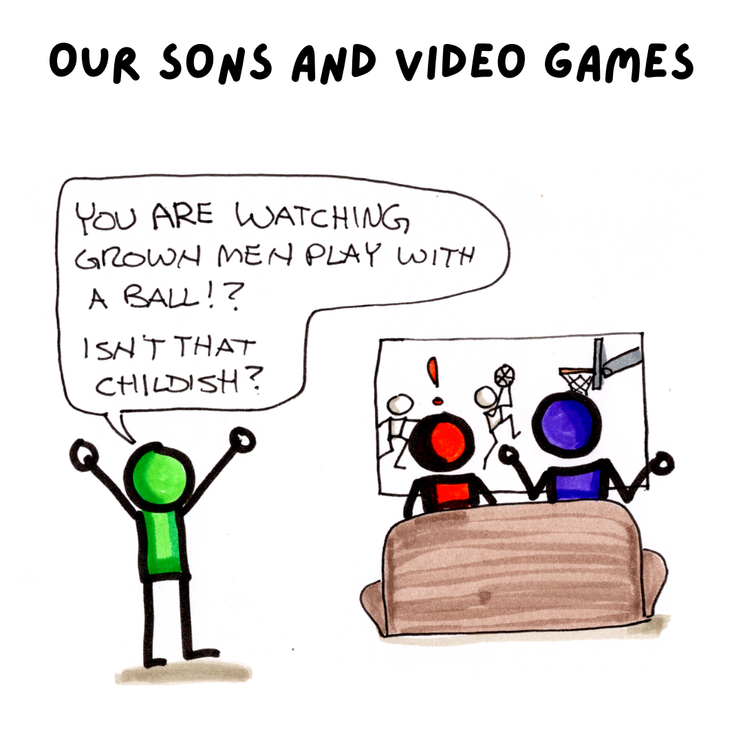 Competition, Our Sons and Video Games