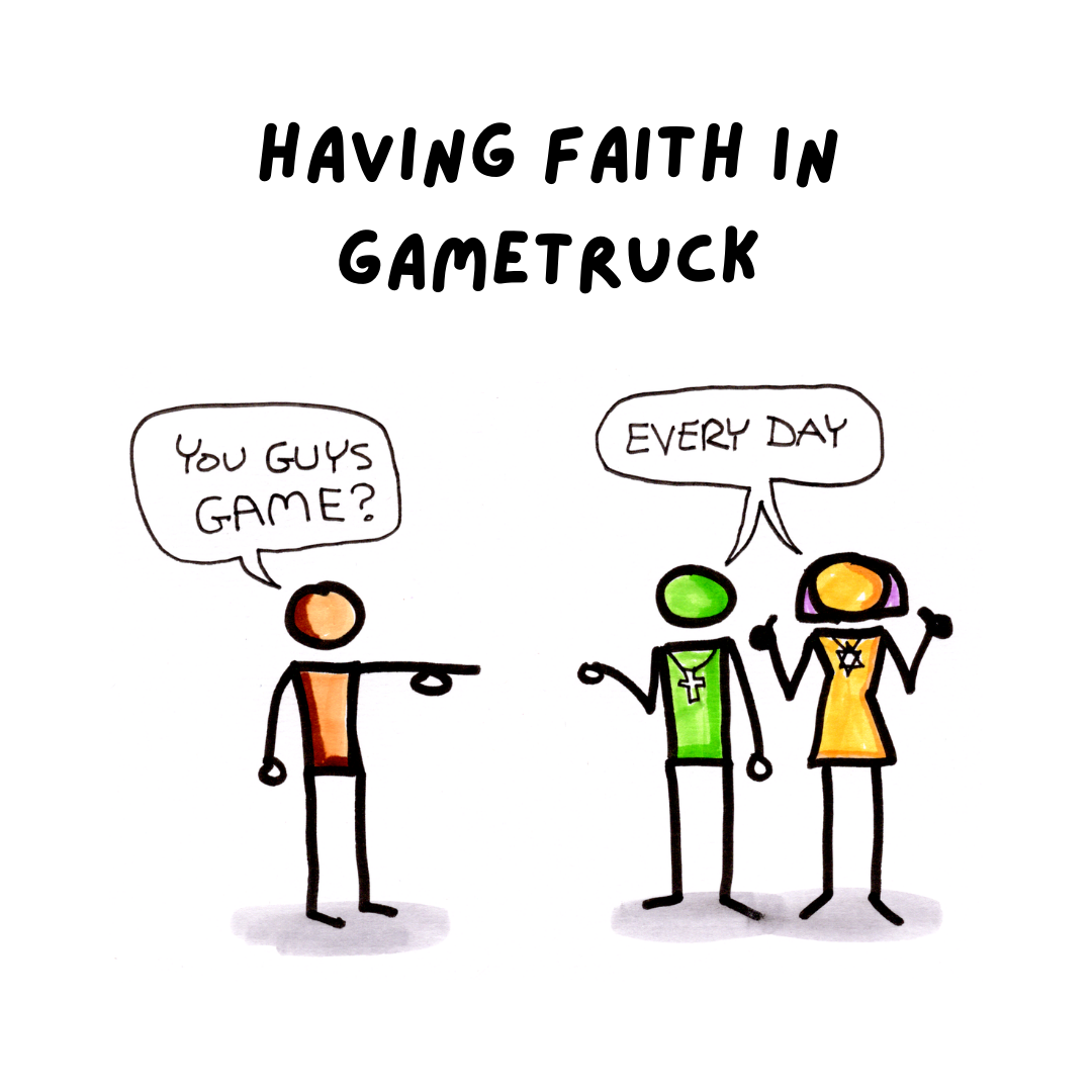 Keep the Faith: GameTruck Delivers Wholesome Fun