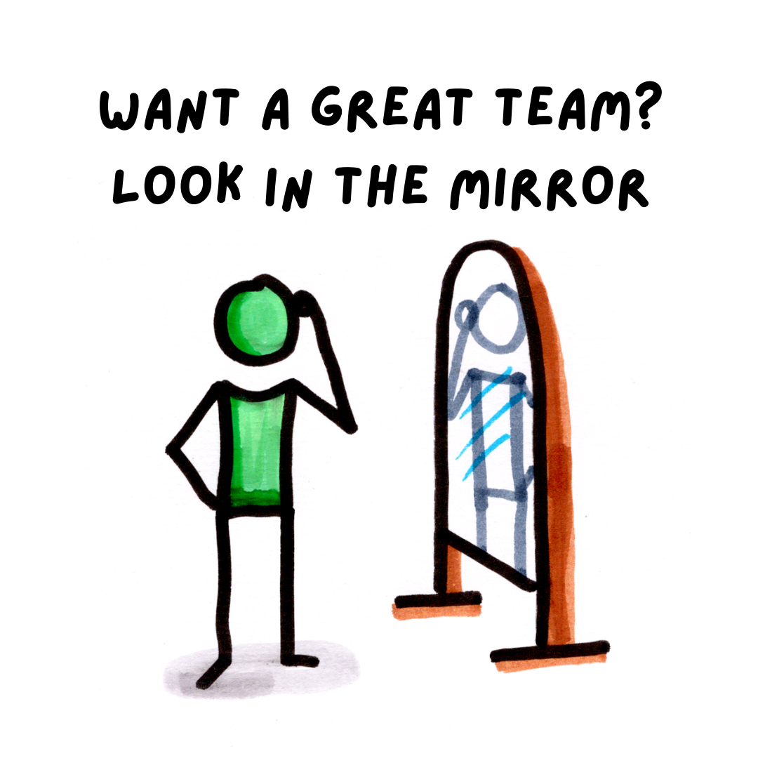 If You Want A Great Team, Look In The Mirror