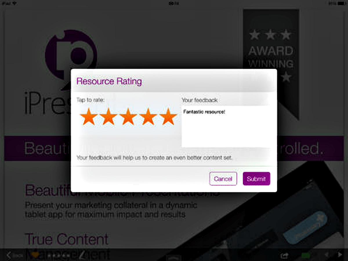 Resource Rating