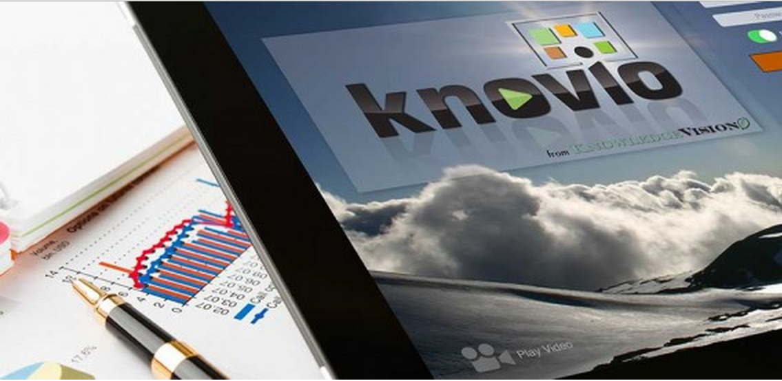 Knovio is a cloud-based application that can be used to create and view content whenever, wherever, and on any device.