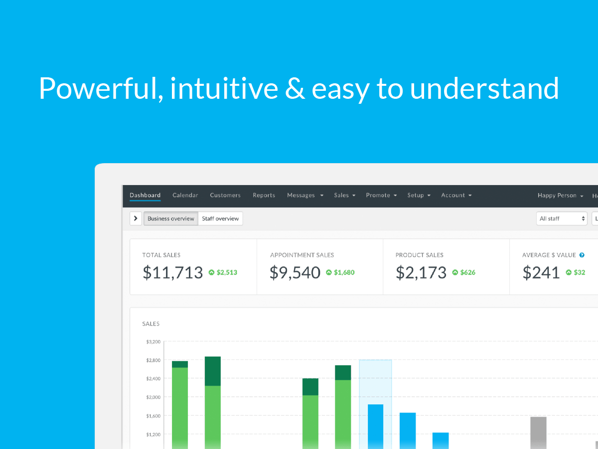 Save time and get your financial reports in a few easy clicks
