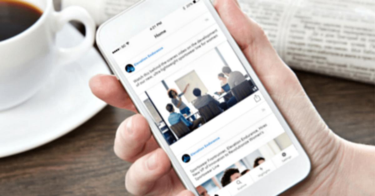 SocialChorus Branded App