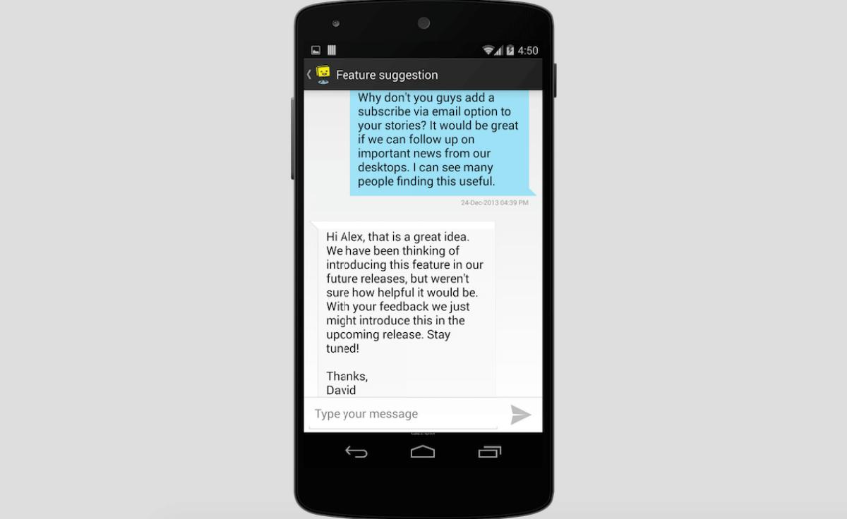 In-App Conversations