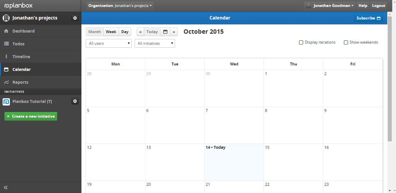 The tool integrates with various calendaring solutions so you're always on top of your daily, weekly, monthly tasks.