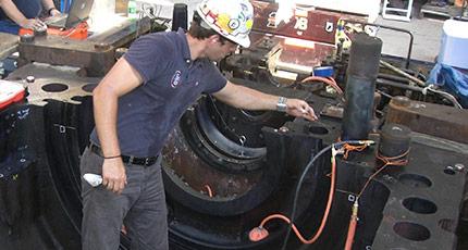 steam turbine aligment services