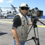flight deck 300x225 150x150 On board the U.S.S. Nassau   Go To Team covers U.S. troops returning home from Iraq
