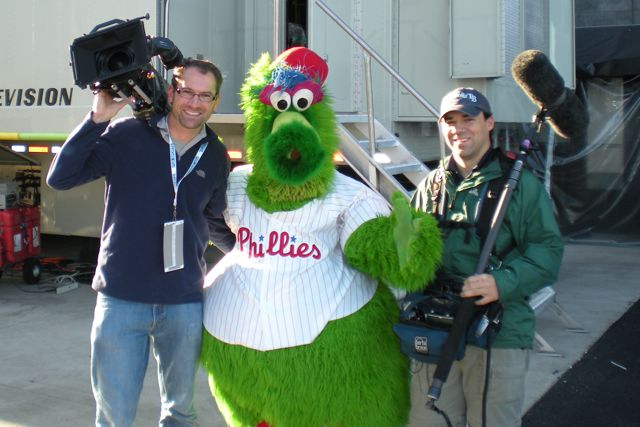 phanaticmascot A Big Day In Philadelphia… If the Rays can move it back to Tampa, Go To Team works some more!