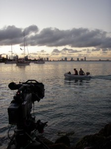 timelaps shot 225x300 Go To Team Clark Crew Wraps BCS Football Coverage in Miami