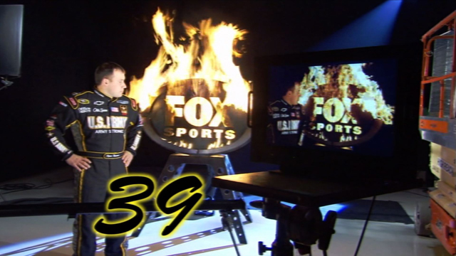 dtsc 2 Behind the Scenes of FOX Sports NASCAR Hanger Shoot… A Year's Worth of Cool Footage in 10 Hours